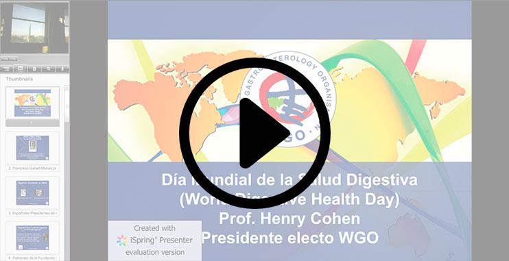 Vídeo Día Mundial Salud Digestiva 2011