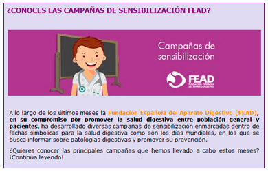 newsletter Junio 2018 FEAD
